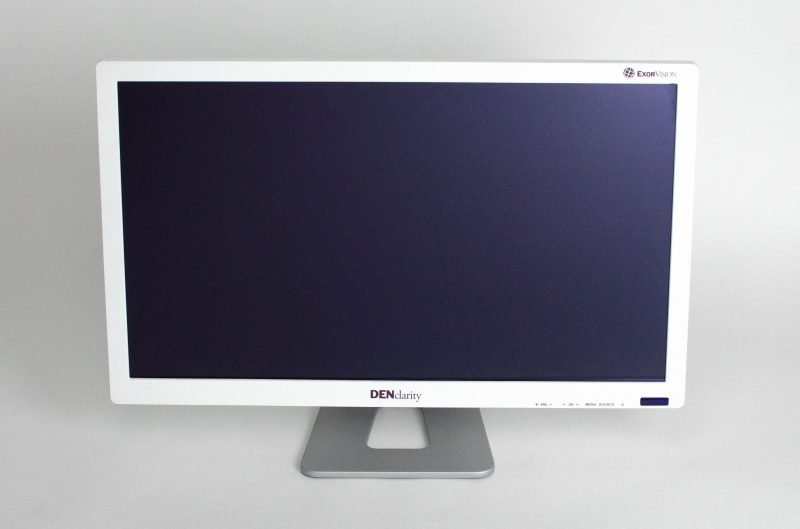 "24"" Denclarity Monitor Front View"