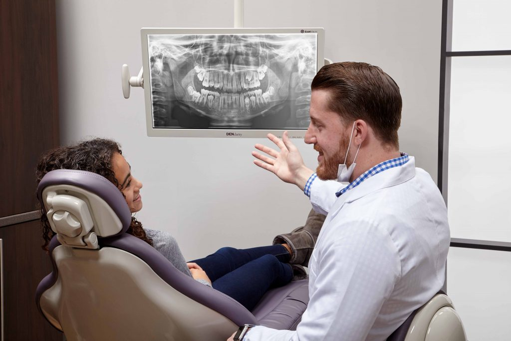 DENclarity is a modern and professional dental monitor